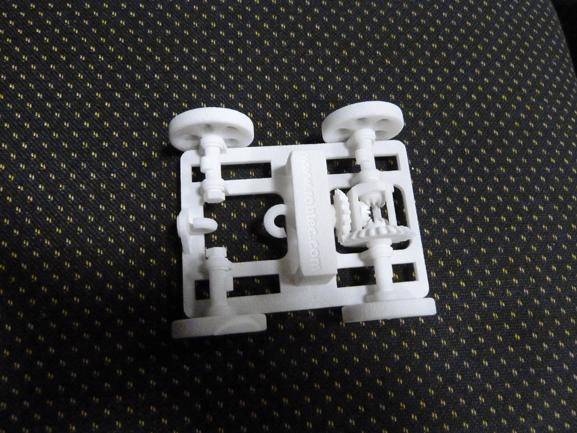 Protótipo produzido na impressora 3D, BFB 3000, que chega ao Brasil por R$ 12.400,00