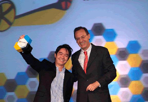 Milton Tanabe, foi o campeão na categoria Shape Design (design externo e interno) do Talento Design VW