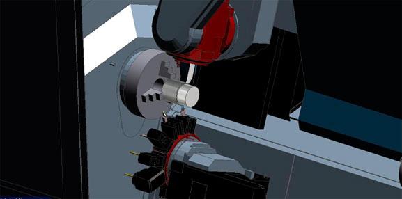 Simulação de usinagem no EdgeCAM que lê arquivos do CAD SolidWorks de forma nativa
