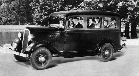 Suburban, lançado em 1935 continua sendo o modelo com a vida mais longa na história da indústria automobilística