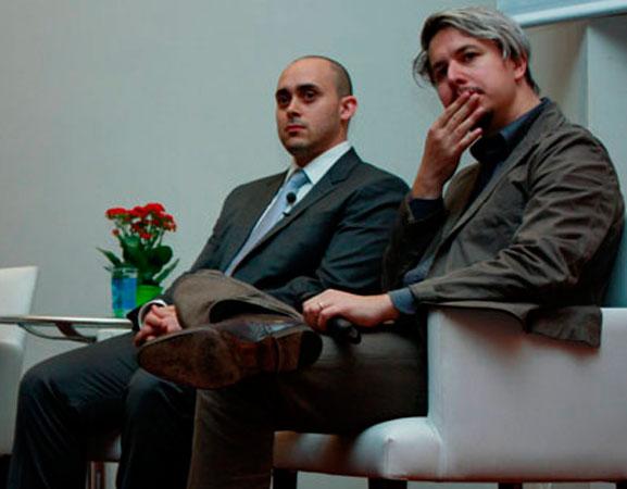 """Fabricio Dore e Dario Buzzini da IDEO abordaram em sua palestra o tema """"Design Thinking & Inovação"""""""