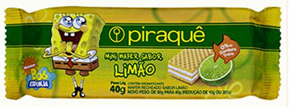 Mini wafers da Piraquê é um exemplo de como a indústria se preocupou em facilitar o consumo desses biscoitos oferecendo minis
