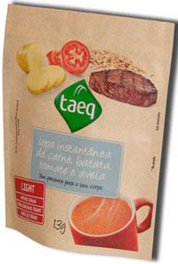 Sopa Taeq pode ir a qualquer lugar e ser preparada na hora