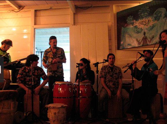 Show de encerramento da primeira exposição em Buenos Aires entre jun/jul 2011