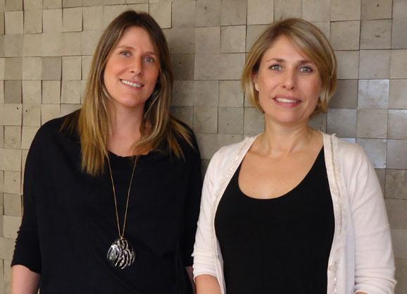 Da esq. p/ dir.: Fabiana Anauate e Roberta Colleta, novas sócias da Oz que chegam para apoiar no branding