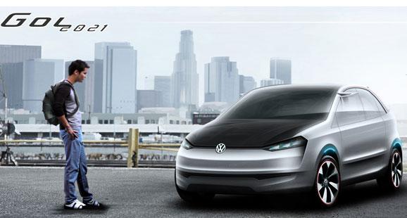 VW Gol 2021, de Carlos Alberto Bueno, quando conectado à Web identifica perfil do usuário e sugere configuações