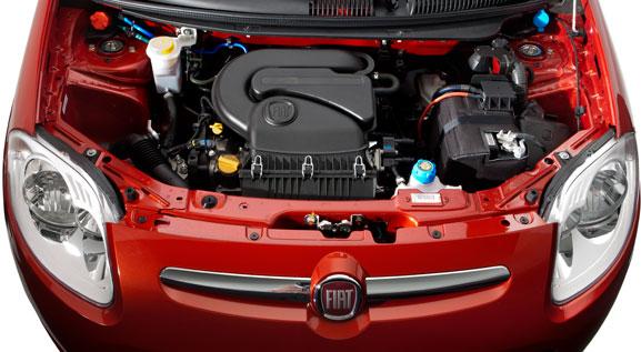 Novo Palio traz três opções de motores: Fire 1.0 EVO, Fire 1.4 EVO e 1.6 16V E.torQ Flex