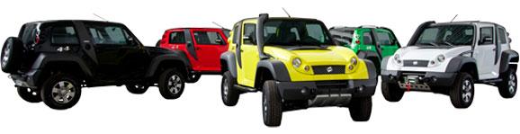 Stark: veículo desenhado pela Questto com tecnologia de ponta e fabricado pela TAC
