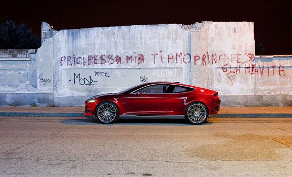 O Evos Concept traz a clara mensagem sobre a orientação futura do design da Ford, que investe em veículos premium