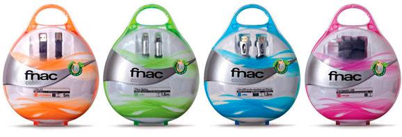 As embalagens da Fnac, no formato blister, podem ser reutilizada como porta CDs e DVDs