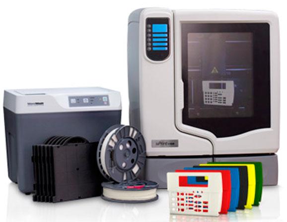 Stratasys uPrint, a impressora 3D de entrada Stratasys é o modelo mais vendido pelo fabricante