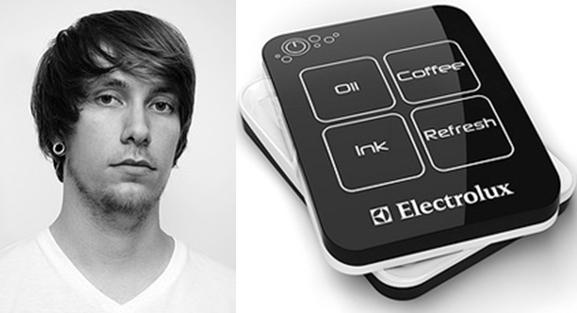 """Adrian Mankovecky e seu """"Removedor de manchas portátil"""", vencedor do Design Lab 2011"""