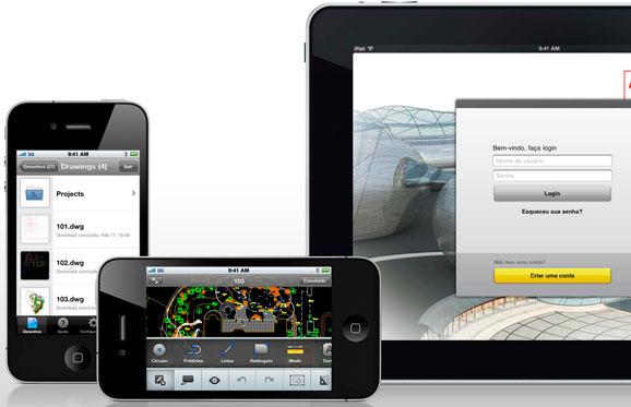 AutoCAD WS permitirá visualizar modelos 3D em diversos dispositivos móveis