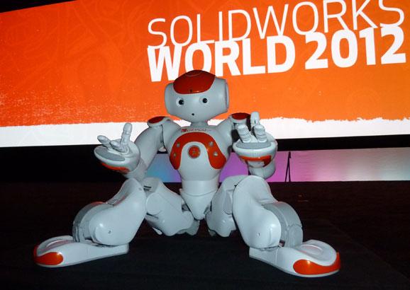 Robô NAO, que fez fama na novela Morde & Assopra, como Zariguim, foi estrela na SWW
