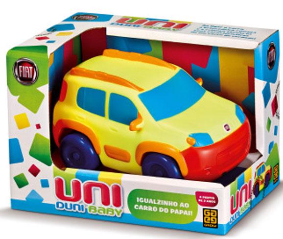 Objetivo do Uni Duni é estabelecer comunicação lúdica, aproximando a Fiat das famílias e das crianças