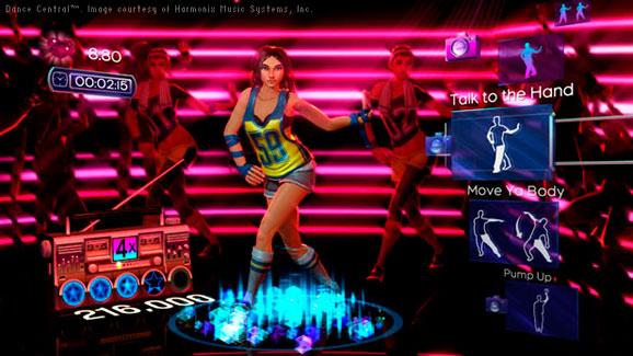 Imagem do game Dance Central, concebido pela  Harmonix Music Systems, no 3ds max