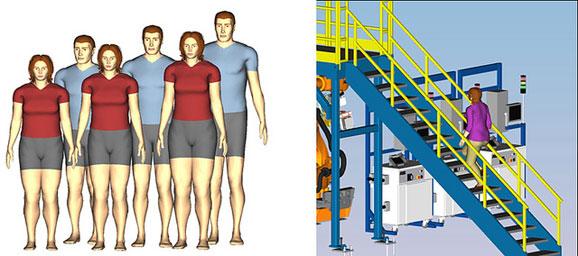 Tecnomatix 10 permite criar fabrica virtual e simular distribuição de equipamentos e pessoas