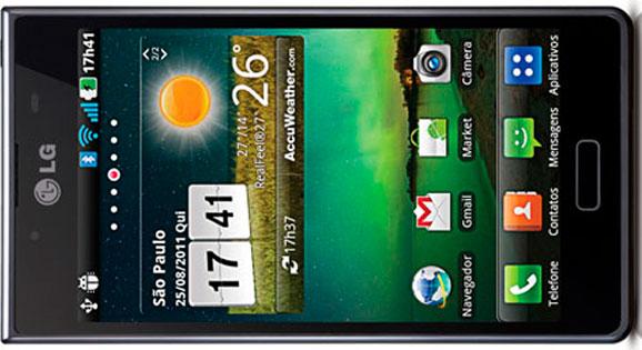 Optimus L7 mostra novo conceito de smartphones com design diferenciado, a maior tela da categoria