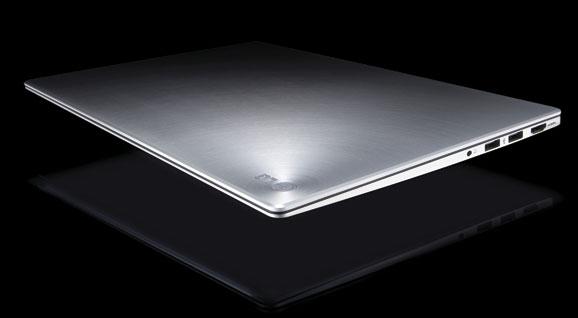 LG Z430 é um ultrabook de 14 polegadas com acabamento metalizado e bordas ultrafinas