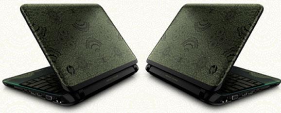 O notebook teve seu design inspirado nas rendas o mesmo da coleção de roupas criada por Herchcovitch