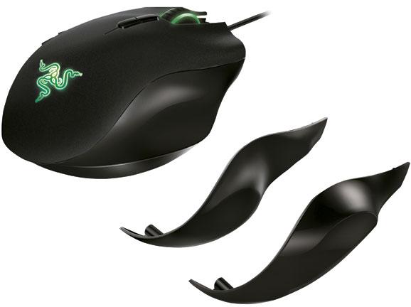 Os gamers poderão substituir o painel lateral do Razer Naga para ajustá-lo ao tamanho da mão