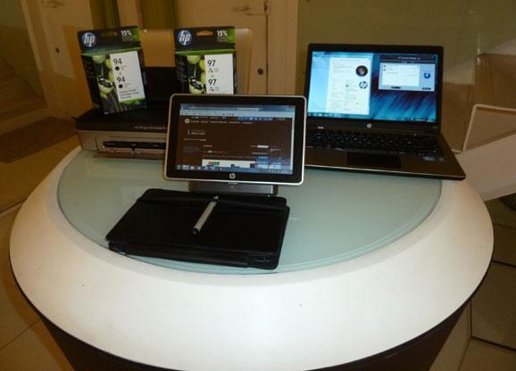 Notebooks e tablet, soluções de mobilidade lançadas pela HP para uso corporativo