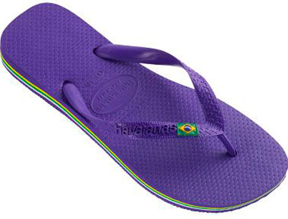 Havaianas Brasil foi lançada para a Copa de Futebol de 1998, depois virou referência de Brasil