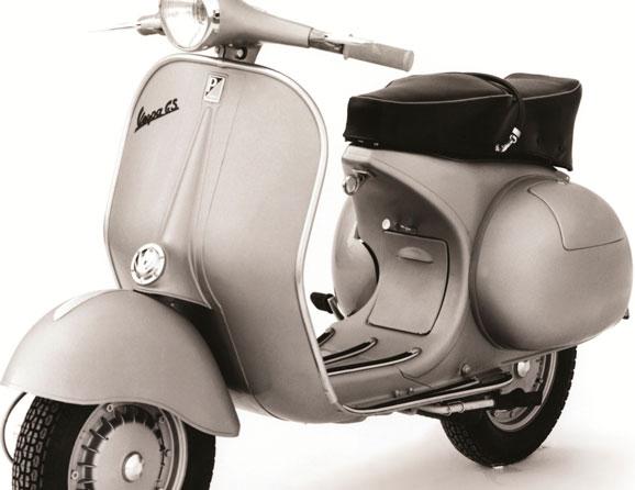 CORRADINO-D'ASCANIO_Vespa-150-GS-_1955_-Estrutura-pintada-em-metal-e-aço,-borracha,-couro-e-plást