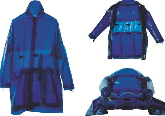 MORENO-FERRARI_Transformabili---Jacket-armchair_2001_Poliuretano,_nylon,-PVC_variabili
