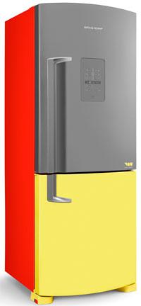 Refrigerador da linha YOU pode ser personalizado pelos consumidores no site da marca