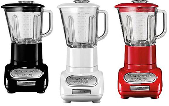 Liquidificador Artisan, disponível em uma grande variedade de cores, também são ícone do design