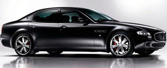 Maserati Quattroporte, criação de Sergio Pininfarina, que trouxe aos automóveis novo conceito de design