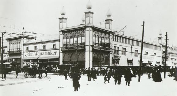 Jhon Wanamaker, a primeira loja de departamentos da Filadélfia, nos Estados Unidos