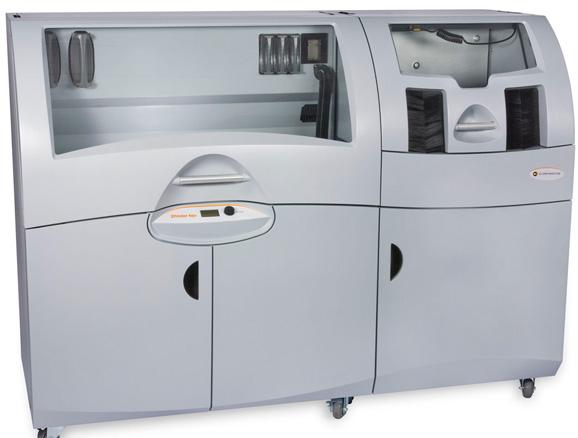 Impressora 3D Z Print 650, da Z Corporation foi apresentada no Seminàrio Robtec pela 3D Systems