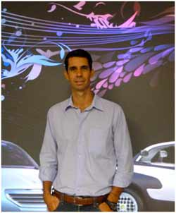 Frederico Laguna no CRV da PSA