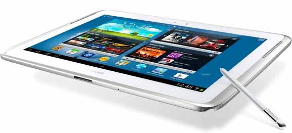 Galaxy Note 10.1, primeiro aparelho que combina a mobilidade do tablet e a produtividade de um notebook