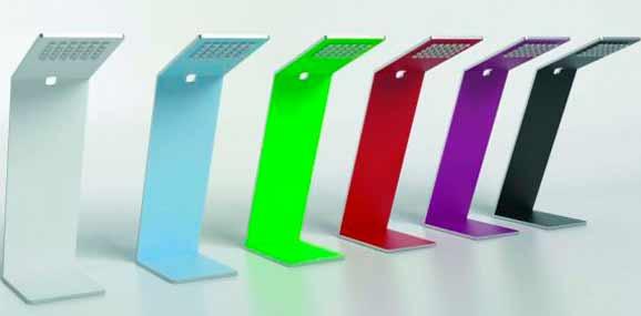 Luminária Flap concebida por Diogo Costa é um dos destaques da exposição Rio + Design