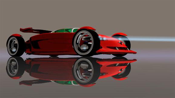 Veiga está sempre imaginando novas possibilidades criativas dos automóveis e dando formas a elas