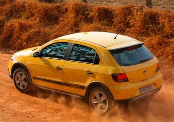 GOL Rally, mais uma derivação do GOL lançado pela Volkswagen na década de 80