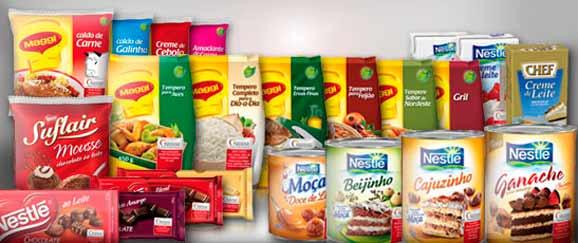 Conheça as marcas de alguns dos produtos que a Nestlé fabrica e distribui no Brasil