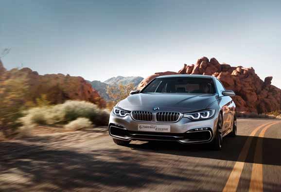 BMW Concept Série 4 Coupé traz mais esportividade e exclusividade em relação ao antecessor Coupé Serie 3