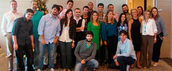Alunos e professores do IED, FAAP, Instituto Mauá e Belas Artes que participaram do Desafio