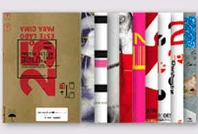 Cartazes criados para edições anteriores do Prêmio Design