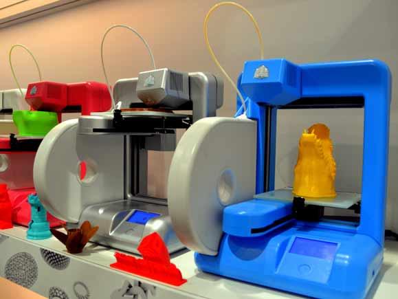 Impressora de uso pessoal CUBE, da 3D Systems, permite qualquer pessoa imprimir objetos 3D