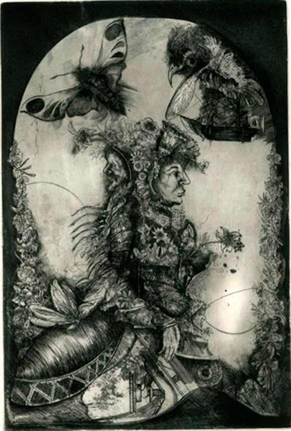 Gravura de Alexandre Camanho, vencedor do Prêmio Ibema Gravura edição 2012