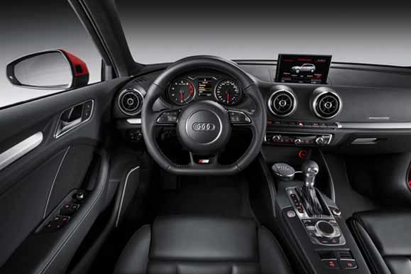 Painel do Audi A3 Sportback cativa pela disposição ergonômica e clara dos instrumentos