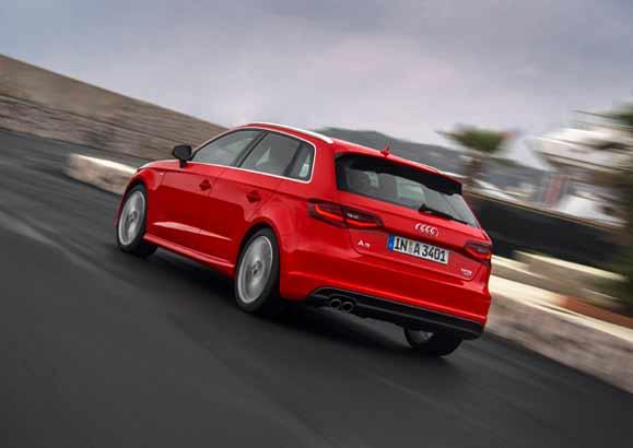 tecnologia de construção de baixo peso da montadora, Audi Ultra, já foi aplicada no novo modelo, deixando-o 90 quilos mais