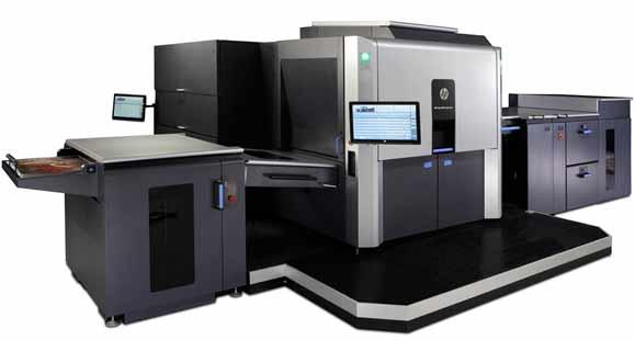 HP Indigo 1000 ganhou novos recursos como a possibilidade de imprimir meia página