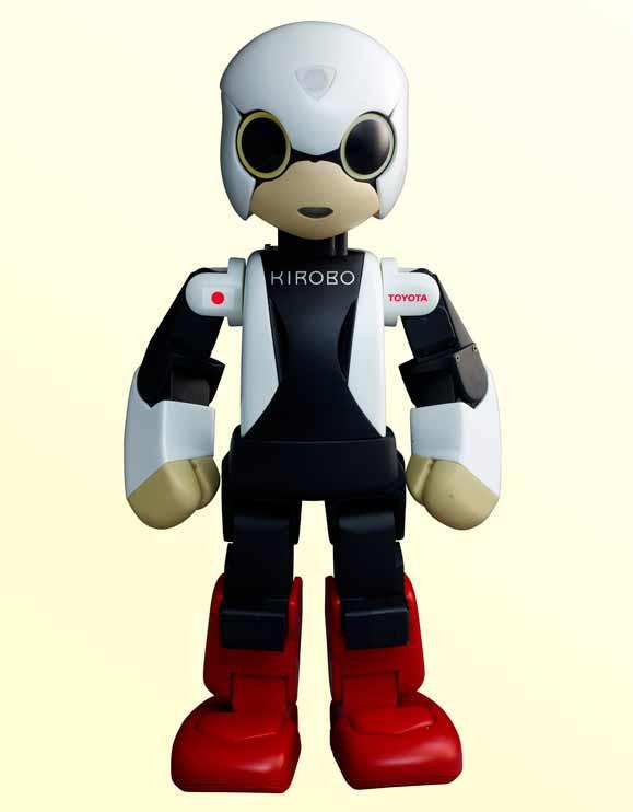 Robô criado pelos japoneses, Kirobo, vai à Estação Espacial Internacional em agosto de 2013