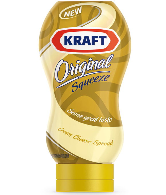 Embalagem de cream cheese da Kraft desenhada pela Narita Design para Dubai